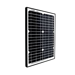 GOLIATH 15 Watt 12 Volt Monocrystalline Solar Panel for Gate Opener Pool Garden Driveway