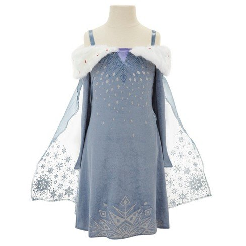 Disney Olaf's Frozen Adventure Elsa Deluxe Musical Kids' Dress