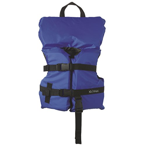- Full Throttle 3600-0132 Marine General Purpose Infant Life Vest with Quick Recovery Strap, Blue and Black Finish