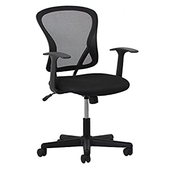 Essentials Swivel Mesh Task Chair With Arms - Ergonomic Computeroffice Chair (Ess-3011) 0