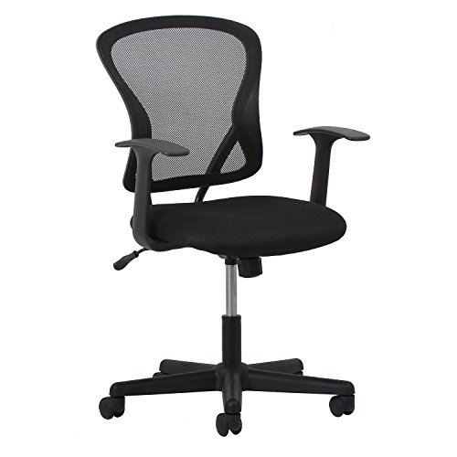 (Essentials Swivel Mesh Task Chair with Arms - Ergonomic Computer/Office Chair )