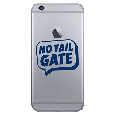 (2x) StickAny Phone Series No Tail Gate Speech Bubble Sticker for iPhone, Galaxy S, LG, HTC, Sony and More! (Navy)