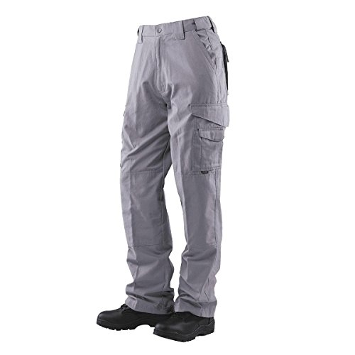 Tru-Spec 1089 Mens 24-7 Lightweight Tactical Pants, Light Grey, Size (Gray Lightweight Tactical Pants)