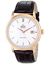 Orient Men's FER27003W0 Symphony Analog Display Japanese Automatic Brown Watch