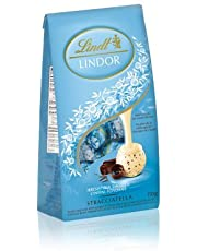 Lindt Lindor STRACCIATELLA White Chocolate with Smooth Centre Box 150g