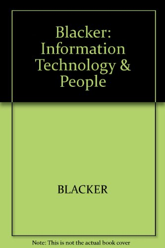 Information Technology and People: Designing for the Future