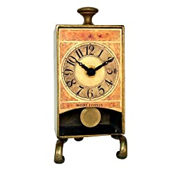 New Haven Brass Antique Table Pendulum Clock