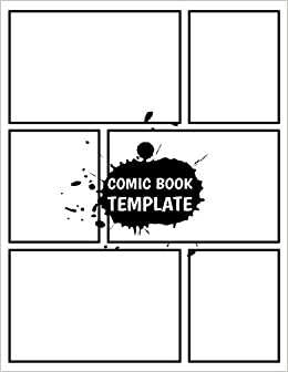 Amazon.com: Comic Template : Large Print Blank Comic Strips 8.5x11 With 110  Pages, Drawing Your Own Comic Book Journal Notebook (Blank Comic Books)  Vol.2: ...