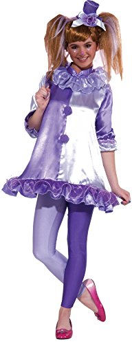 [Forum Novelties Women's Teenz Violet The Clown Costume, Purple, Small] (Halloween Costumes Violet)