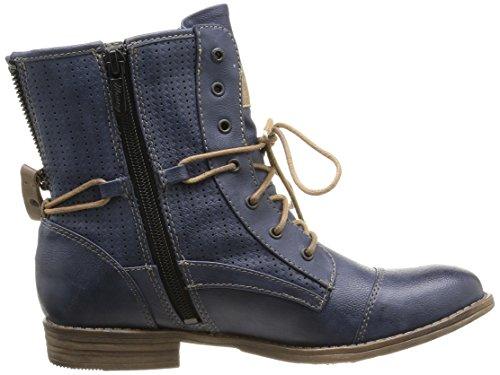 Mustang 1157-503-20 Damen Stiefel & Stiefeletten(Dunkelgrau) Blau (800 dunkelblau)