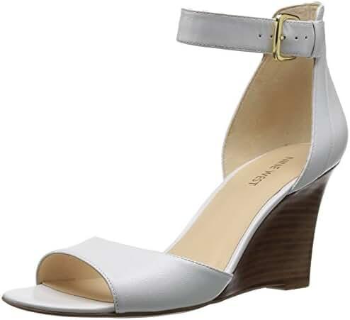 Nine West Women's Farlee Leather Dress Sandal