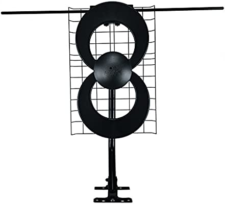 Antennas Direct ClearStream 2V Multi-Directional HDTV Antenna with Indoor,  Attic, or Outdoor Roof Mount Included, 60+ Mile Range, 4K Ready, on Parts