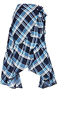 Lauren Ralph Lauren Women's Plaid Ruffled Skirt