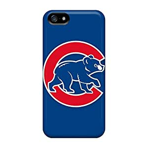 Tpu Kylarlson Shockproof Scratcheproof Baseball Chicago Cubs Hard Case Cover For Iphone 5/5s