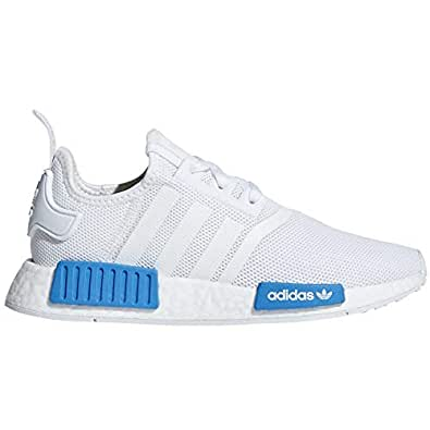 adidas Kids AQ1785 OX D NMD Wht/Blue (6M, Wht/Blue)