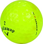 Callaway 12 X2 Hot Plus Yellow - Mint (AAAAA) Grade - Recycled (Used) Golf Balls