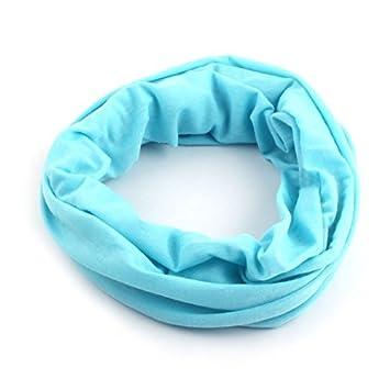 eDealMax Spandex aire Libre Deportes elástico bufanda inconsútil Cuello del tubo elástico máscara de la Venda