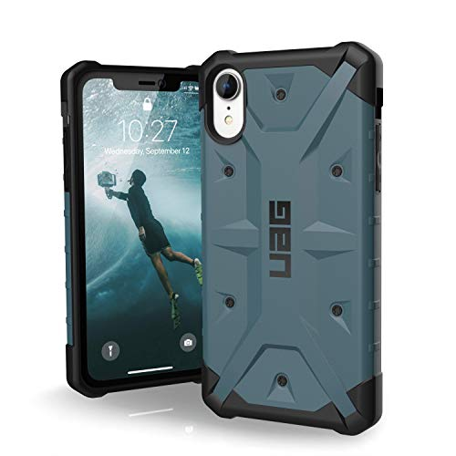 URBAN ARMOR GEAR UAG iPhone XR [6.1-inch Screen] Pathfinder Feather-Light Rugged [Slate] Military Drop Tested iPhone Case ()