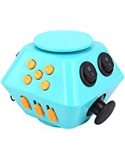 JIAOJIEB Decompression toys Spinner Combination Stress Upgraded 3 Antistress Magic Anti Stress Relieve Anxiety Boredom Finger Toy Children Adult Decompression Toy Decompression toys (Color : Blue)