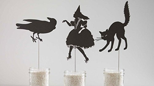 Cricut Crafts: Make Halloween Shadow Puppets for $<!--$9.95-->
