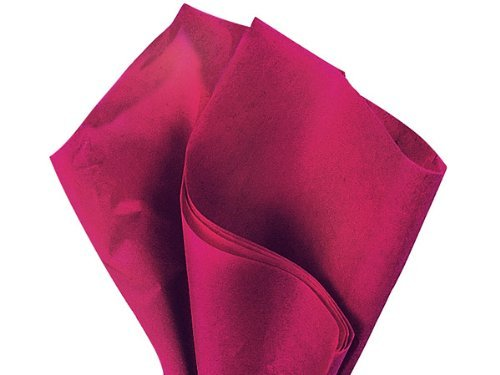 Bulk Cranberry Tissue Paper 15 Inch x 20 Inch - 100 (Cranberry Paper)