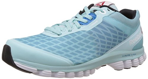 Reebok Womens Sublite Super Running Duo Blue Sneakers r1r7Hqn