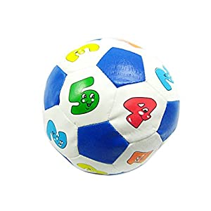 Amazemarket Infant Baby Toddler Rattle Soccer Ball First Steps Walking Indoor Outdoor Sports Early Learning Football…
