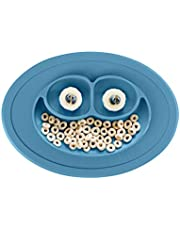 ezpz Mini Mat 100% Silicone Suction Bowl with Built-in Placemat