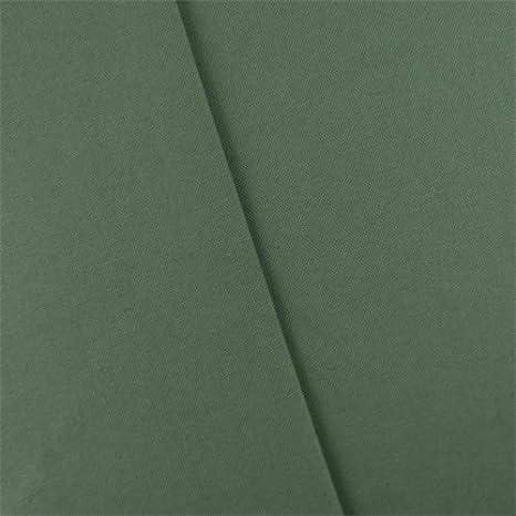 Tela de algodón verde militar para decoración del hogar, tela por el patio: Amazon.es: Juguetes y juegos
