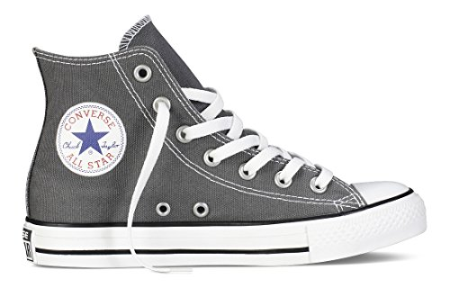 High Sneakers and Classic Unisex in Color Uppers Top Style Chuck Canvas Star All Durable and Charcoal Taylor Converse Casual gX8q8