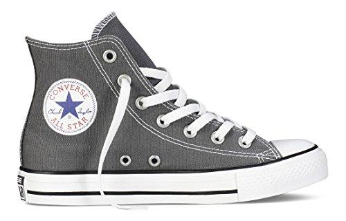 Converse Chuck Taylor All Star Core Hi, Zapatillas Unisex Adulto Gris (Anthracite)