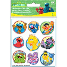 (EK Sesame Street 3D Sticker Metallic)