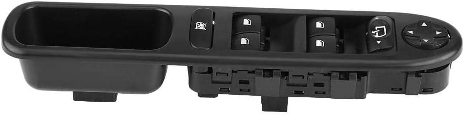 Interruttore alzacristallo elettrico anteriore sinistra Interruttore principale per alzacristallo elettrico adatto per 207 OE 6490.EH