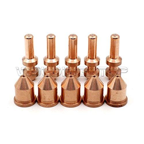 WeldingStop PK-10 Electrode 256026 Tip 249929 for Miller Plasma Cutter Spectrum 875 Auto-Line Cutter XT60 Torch 60A