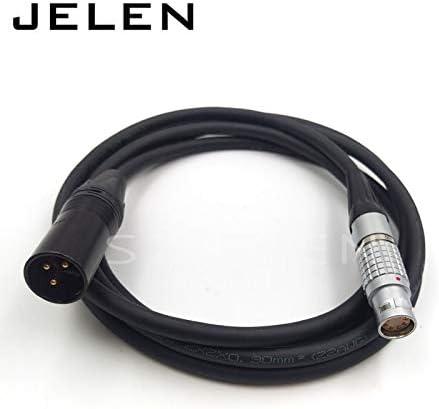 Cable length 2M Gimax camera ALEXA MINI power cable camera ALEXA MINI power plugs to XLR NC3MXX-B plug
