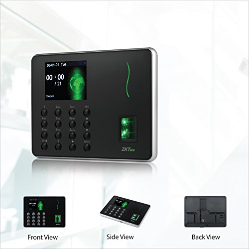 ZKTeco Ultra Slim Fingerprint Attendance Machine Biometric Employee Checking in Attendance Clock