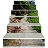 Amazon Com Zhiyu Amp Art Decor 6pcs Set 3d Stair Stickers