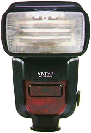 Vivitar DF-864 Speedlight Flash with Accessory Bundle for All Nikon DSLR Cameras