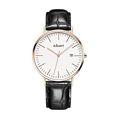 abart Wrist Watch for Men his watches FB41 Analog Crystal Sapphire Roman Numerals watches from a.b.art