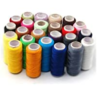 SODIAL(TM) 24 Varios Colors Hilo de Costura de Poliester, Paquete de 24
