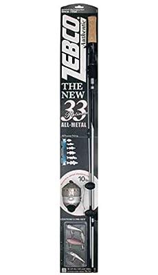 Zebco 33 Platinum Combo, 5'6