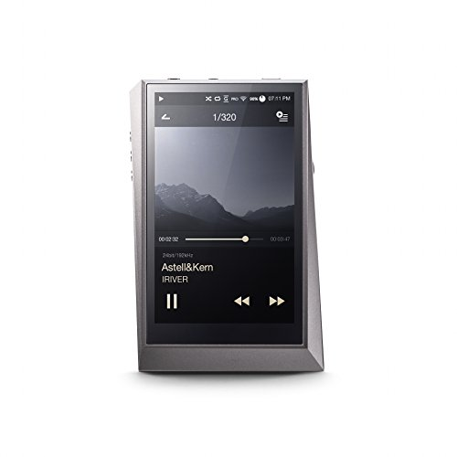 Astell&Kern AK320 Portable High-Resolution Audio Player - 128GB Silver by Astell&Kern