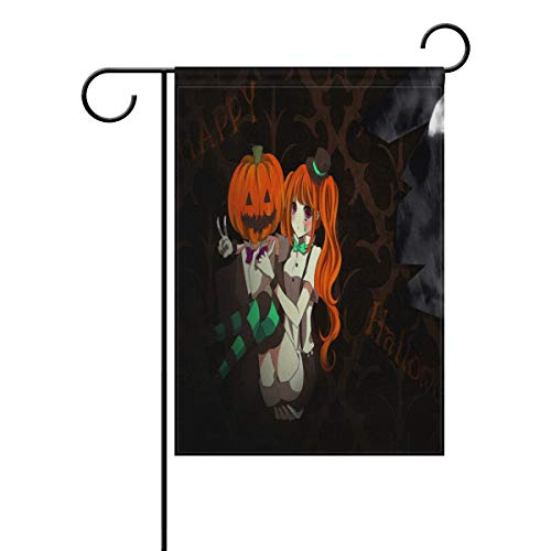 Pingshoes Customized Halloween Anime Wallpaper Garden Flag Outdoor Banner Decorative Large House Polyester Flags for Wedding Party Yard Home Decor Season Porch Lawn 12