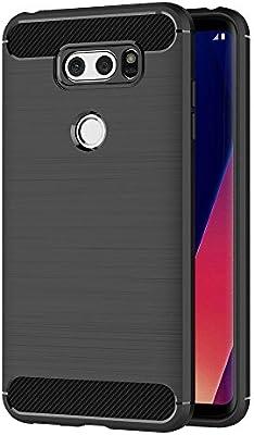 MaiJin Funda para LG V30 / LG V30 Plus (6 Pulgadas) TPU Silicona ...