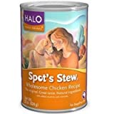Halo Spot's Stew Wholesome Chicken Recipe -- 22 oz