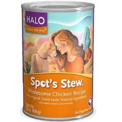 Halo Spot's Stew Wholesome Chicken Recipe -- 22 oz
