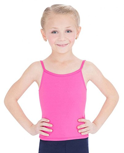 Capezio Little Girls' Team Basic Camisole Top, Hot Pink, Small
