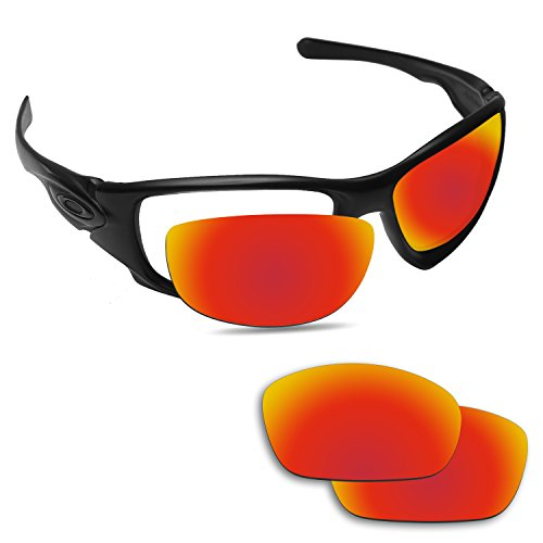 Fiskr Anti-Saltwater Replacement Lenses for Oakley Ten X Sunglasses - Various - Ten Oakley Lenses