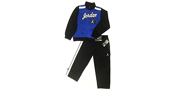 Nike Air Jordan chaqueta chándal azul Outfit Set - tamaño: 24 ...