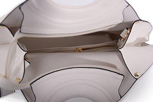 Abbino 2000000140131 - Bolso de tela para mujer talla única Weiss (Art. P-6635-54)
